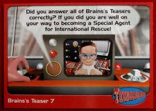 THUNDERBIRDS - Brains's Teaser 7 - Card #71 - Cards Inc 2001