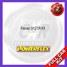 Ferrari 512TR Powerflex Complete Bush Kit