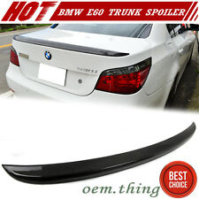 Carbon BMW 5-Series E60 M5 Style Rear Trunk Spoiler Wing 525i 530d 528i 2010