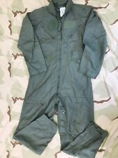 CWU 27/P FR COVERALLS FLYERS SUMMER FLIGHT SUIT SAGE DJ MANUFACTURING 44 LONG