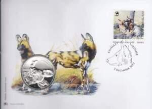 Numisbrief Wildlife 2012 Guinee - African Wild Dog / Wilde Hond (083)