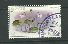 GB locals: St Kilda (Scotland) 1969 Flora of St Kilda 1v 1/6 Bog Violet CTO