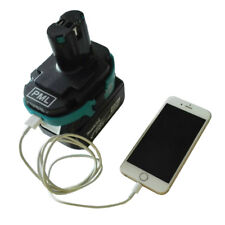 For Makita 18V Tools 1820 1830 Convert to 1834 1835 Battery USB Charger Adapter