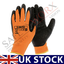 NEW 24 PAIRS WINTER INSULATED RUBBER COATED WORK GLOVES ARCTIC BUILDERS DRIVERS