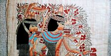 New listing Egyptian Papyrus Paintings - Hand Made in Studio - Lot of 15