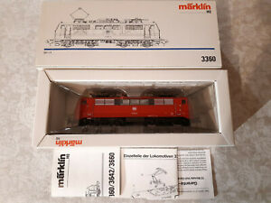 Marklin 3360 DB  HO - usato - in buone condizioni e imballo originale ANALOGICO