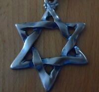 MAGEN DAVID,STAR OF DAVID,BRASS PLATED GOLD KEY HOLDER,KEYCHAIN,ISRAEL,JERUSALEM
