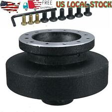 For E36 3 Series Steering Wheel Quick Release Hub Adapter Snap Off Boss Set
