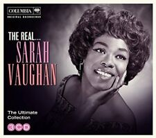 Sarah Vaughan : The Real... Sarah Vaughan CD (2015) ***NEW***