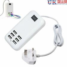 BlueFlame 6 Port USB Wall Charger Hub