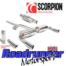 Scorpion Clio 197 Gato Sistema de escape atrás no res con gato de Deportes hacia adentro Rodado