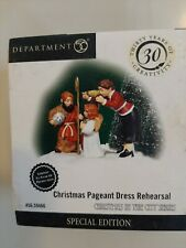 Dept 56 Cic Christmas Pageant Dress Rehearsal #59466