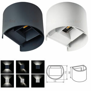 7W LED Wall Light Lamp Indoor Outdoor Up Down Sconce Home IP54 240V