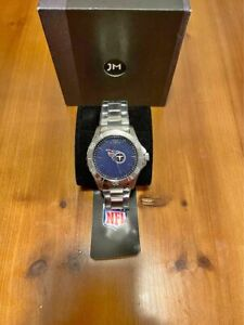 Jack Mason Tennessee Titans OFFICIAL NFL Stainless Steel Analog Watch NEW