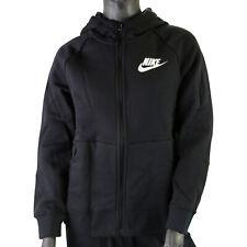 Nike Sportswear (GS) Zip Hoodie Sweatjacke Kinder Schwarz BV2712 010