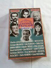 Un coffret de 20 cd les triomphes de la chanson Française Vol 2