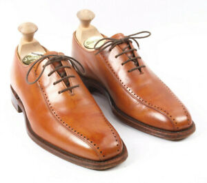 Loake 1880 Gloucester Brown Derby Shoes Size UK 6.5 F - last 029