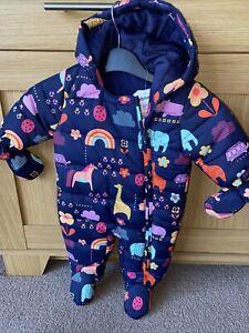 next baby snowsuit  Pramsuit 0-3 Mths  Nwt