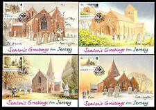 Jersey 453/6 Maximumkarten Weihnachten Kirchen