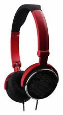 G-Cube iHP-120R Red Foldable Headphone / Headset with Built-in Microphone