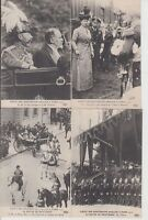 Great Britain Royalty Visit 1914 King George and Mary Paris 22 Vintage Postcards