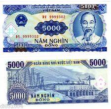 VIETNAM VIET NAM Billet 5000 DONG 1991  P18 DONG HO CHI MINH NEUF UNC
