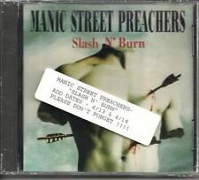MANIC STREET PREACHERS Slash N Burn SEALED USA PROMO Radio DJ CD single 1992