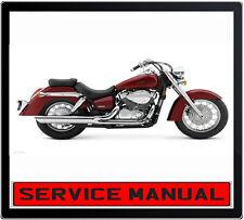 HONDA VT750C SHADOW 2000 ONWARD BIKE REPAIR SERVICE MANUAL IN DVD
