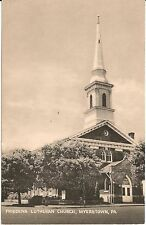 Friedens Lutheran Church Myerstown PA Postcard