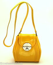 Mimco Offbeat Patent Leather Hip Bag in Marigold Yellow