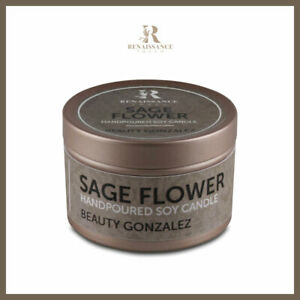 Beauty Gonzales - Sage Flower (Small Tin Can) - Renaissance Touch