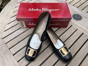 Ladies Salvatore Ferragamo shoes - Carla Nero - UK 6