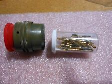 BENDIX CONNECTOR WITH CONTACTS # PT06CE22-55SY  NSN: 5935-00-812-4580