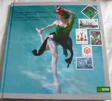 2012 Irlanda TIMBRO ANNO book RARE un post Irlandese COMMEMORATIVI Gomma integra, non linguellato