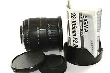 Nikon DSLR fit Sigma 28-105mm D AF fast F2.8-4 Zoom Lens