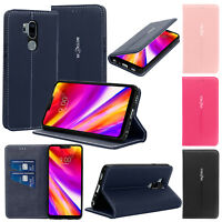 For LG G 7 / LG G7 ThinQ / LM-G710 Wallet Leather Phone Case Flip Holder Cover