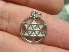 Sterling Silver Charm Pendant 925 Canadian Confederation Centennial 1967 jewelry