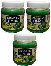 3x Crema REDUCTORA DE LIMON / Lemon Body Wrap Cream Made In MEXICO 9 Oz Each