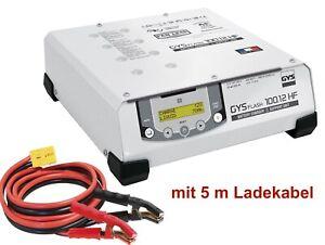 GYS Gysflash 100.12 HF Inverter Ladegerät 100A 12V mit 5m Ladekabel 029415