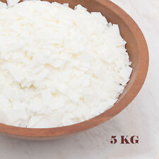 5KG 100% Pure Soy Wax/ Soya Candle Making Wax Natural Flakes Clean Burning