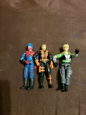 GI Joe Wet Suit figure 1991 and 2 others