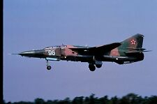 Duplicate colour slide MiG-23UB Flogger 96 of Russian Air Force