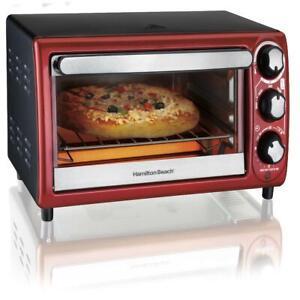 Toaster Oven Countertop Reheat Baking Home Kitchen Appliance Stainless Steel