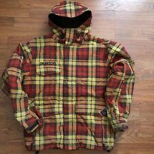 New listing Burton Men's Hooded Plaid Ski Jacket M