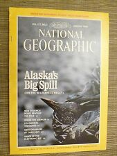 National Geographic ALASKA'S BIG SPILL - JANUARY 1990