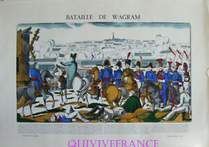 EP58 - BATAILLE DE WAGRAM - IMAGE D'EPINAL PELLERIN - NAPOLEON