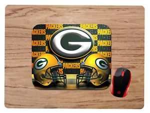 GREEN BAY PACKERS DESIGN MOUSEPAD MOUSE PAD HOME OFFICE GIFT NFL
