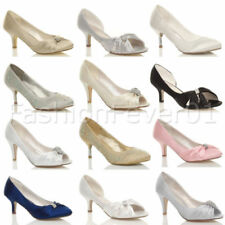 Unbranded Kitten Court Shoes Synthetic Heels for Women