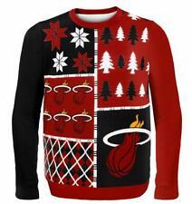 Miami Heat Sweater Ugly, Nba Basketball ,Winter Style, Size Xl