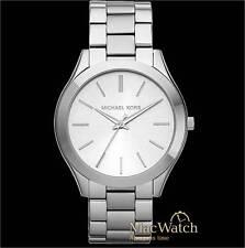 Michael Kors Damen Uhr Slim Runway MK3178 Edelstahl, silber NEU OVP